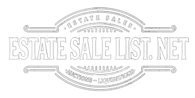 Estate Sale List . NET